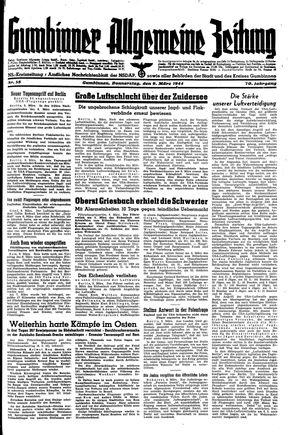 Gumbinner allgemeine Zeitung vom 09.03.1944