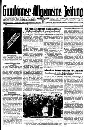Gumbinner allgemeine Zeitung vom 10.03.1944