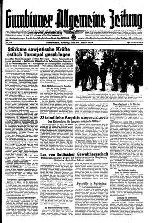 Gumbinner allgemeine Zeitung on Mar 17, 1944