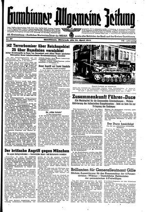 Gumbinner allgemeine Zeitung on Apr 26, 1944