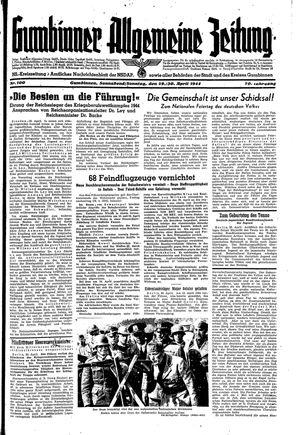 Gumbinner allgemeine Zeitung on Apr 29, 1944