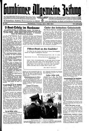 Gumbinner allgemeine Zeitung vom 05.05.1944