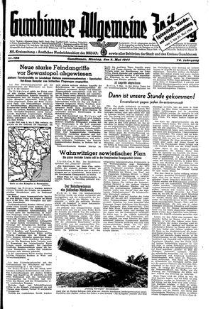 Gumbinner allgemeine Zeitung vom 08.05.1944