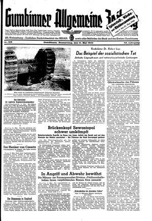 Gumbinner allgemeine Zeitung vom 11.05.1944