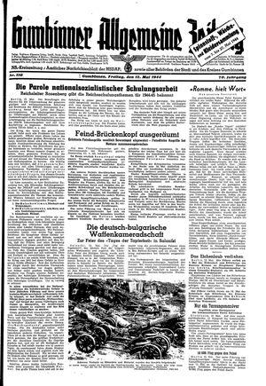 Gumbinner allgemeine Zeitung vom 12.05.1944
