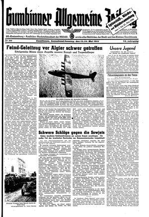 Gumbinner allgemeine Zeitung on May 13, 1944