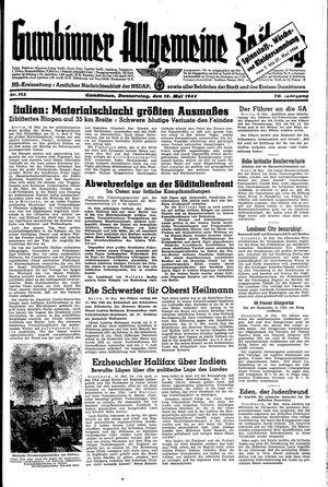 Gumbinner allgemeine Zeitung vom 18.05.1944