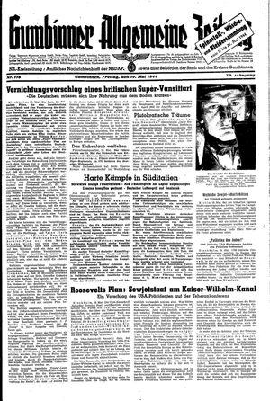 Gumbinner allgemeine Zeitung vom 19.05.1944