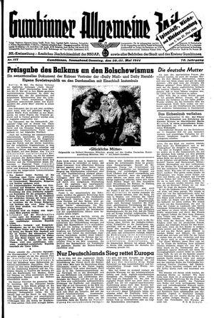 Gumbinner allgemeine Zeitung on May 20, 1944