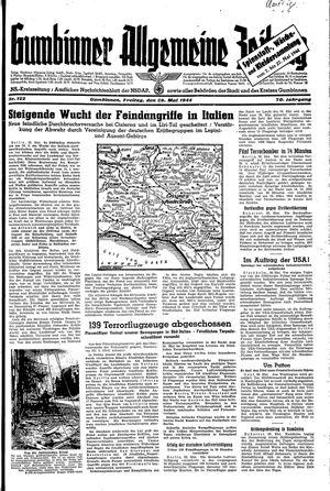 Gumbinner allgemeine Zeitung on May 26, 1944