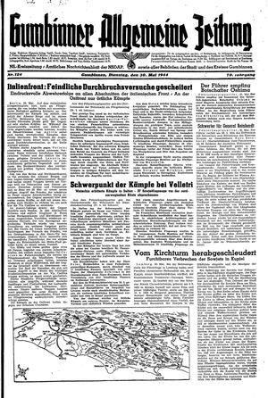 Gumbinner allgemeine Zeitung vom 30.05.1944