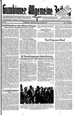 Gumbinner allgemeine Zeitung vom 31.05.1944