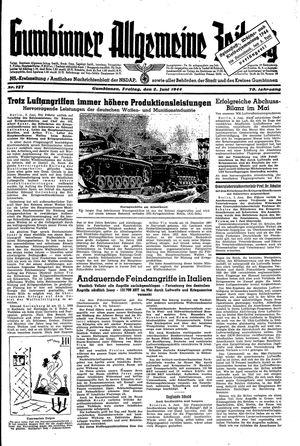 Gumbinner allgemeine Zeitung vom 02.06.1944