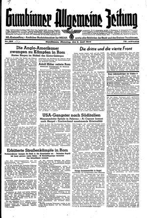 Gumbinner allgemeine Zeitung vom 06.06.1944