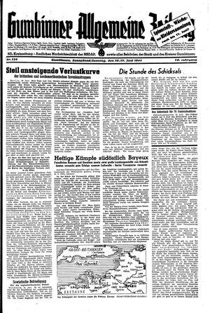 Gumbinner allgemeine Zeitung vom 10.06.1944