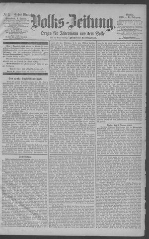 Berliner Volkszeitung vom 04.01.1890