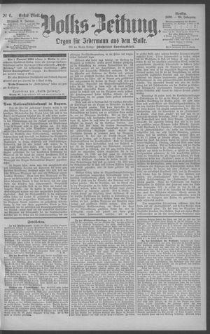 Berliner Volkszeitung vom 08.01.1890