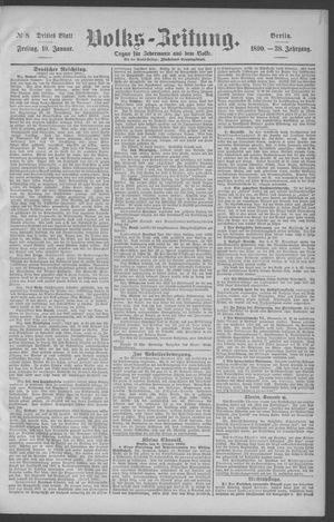 Berliner Volkszeitung vom 10.01.1890