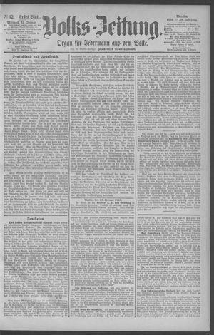 Berliner Volkszeitung vom 15.01.1890