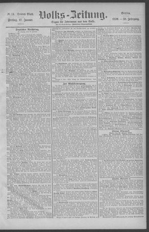 Berliner Volkszeitung vom 17.01.1890