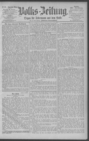 Berliner Volkszeitung vom 21.01.1890