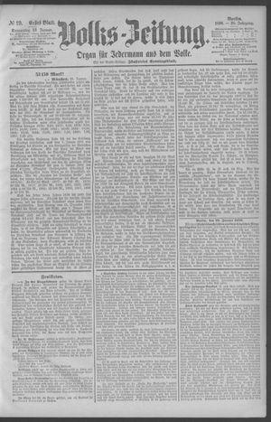 Berliner Volkszeitung vom 23.01.1890