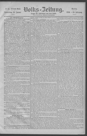 Berliner Volkszeitung vom 30.01.1890