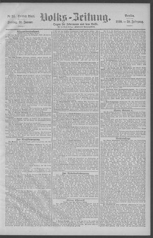 Berliner Volkszeitung vom 31.01.1890