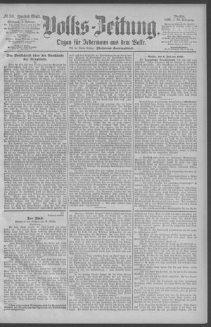 Berliner Volkszeitung vom 05.02.1890