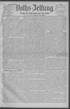 Berliner Volkszeitung vom 13.02.1890