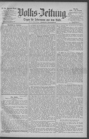 Berliner Volkszeitung vom 14.02.1890