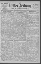 Berliner Volkszeitung (22.02.1890)