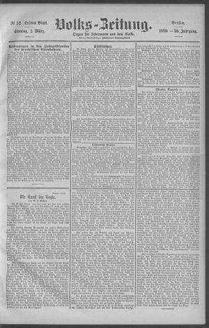 Berliner Volkszeitung vom 02.03.1890