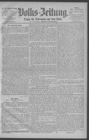 Berliner Volkszeitung vom 07.03.1890