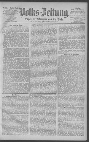 Berliner Volkszeitung vom 13.03.1890