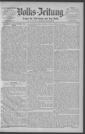 Berliner Volkszeitung vom 14.03.1890