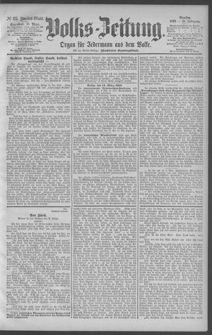Berliner Volkszeitung vom 15.03.1890