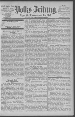 Berliner Volkszeitung vom 18.03.1890