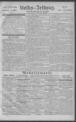 Berliner Volkszeitung vom 20.03.1890