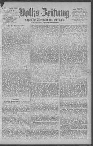 Berliner Volkszeitung on Mar 29, 1890