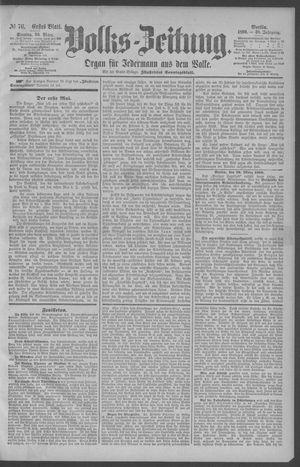 Berliner Volkszeitung vom 30.03.1890