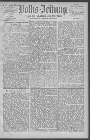 Berliner Volkszeitung on Apr 4, 1891