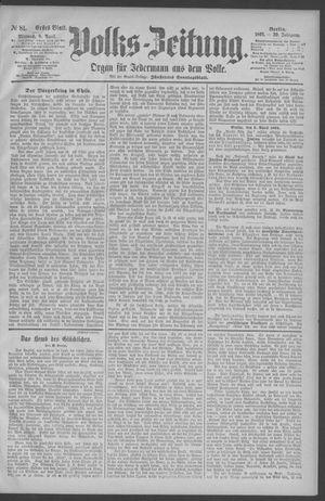 Berliner Volkszeitung vom 08.04.1891