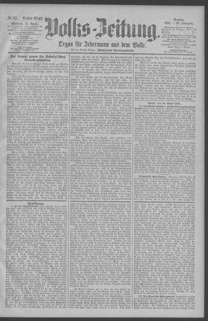 Berliner Volkszeitung vom 15.04.1891