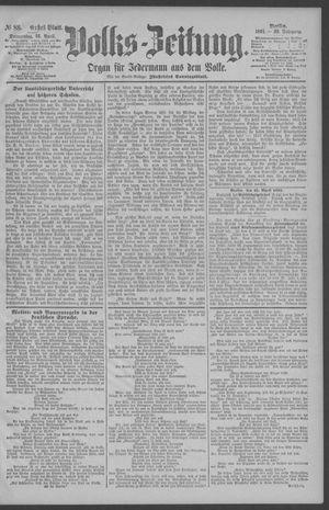 Berliner Volkszeitung on Apr 16, 1891