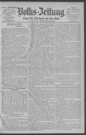 Berliner Volkszeitung vom 02.05.1891