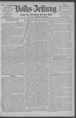 Berliner Volkszeitung on May 5, 1891