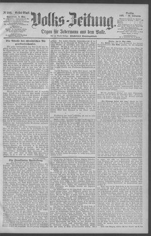 Berliner Volkszeitung vom 09.05.1891
