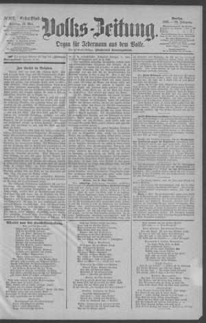 Berliner Volkszeitung vom 10.05.1891