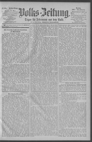 Berliner Volkszeitung vom 24.05.1891
